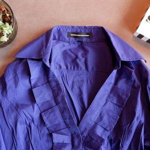 Express Ruffle Dress Shirt